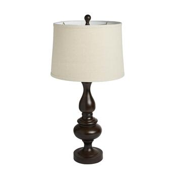 "28"" Hourglass Pawn Table Lamp"