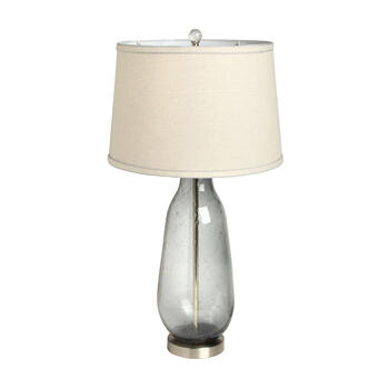 "28"" Glass Bottle Table Lamp view 1"