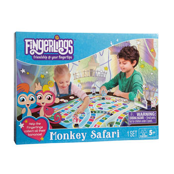 Fingerlings™ Monkey Safari Board Game view 1