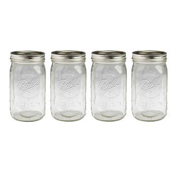 ball wide mouth mason jars with lids set of 12 christmas tree