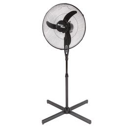 "18"" Black Oscillating 3-Speed Pedestal Fan"