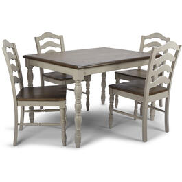 Petal and Stone™ 5-Piece Gray Dining Set view 1