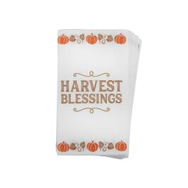 """Harvest Blessings"" Buffet Napkins, Set of 48"