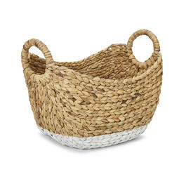 Petal and Stone™ Water Hyacinth Boat 2-Tone Mini Basket view 1