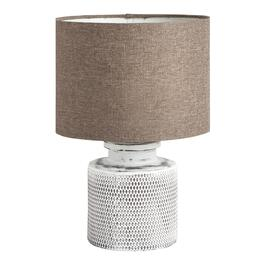 "The Grainhouse™ 13.25"" Diamond Honeycomb Ceramic Accent Lamp"