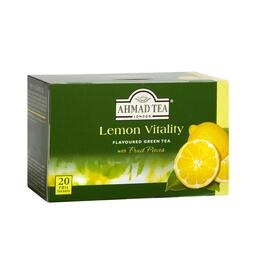 Ahmad Tea® Lemon Vitality Green Tea, 6 Boxes