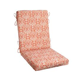 Damask Indoor/Outdoor Hinged Chair Pad