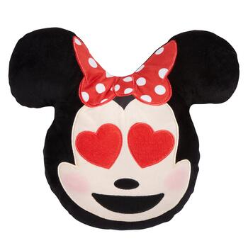 Disney® Plush Minnie Emoji Pillow