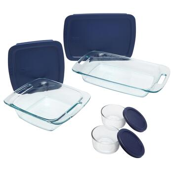 Pyrex® Bake & Store Container Set, 8-Piece