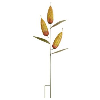 "37"" Corn on the Cob Metal Yard Stake"
