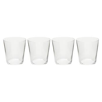10-oz. European Double Old Fashioned Glasses, Set of 4