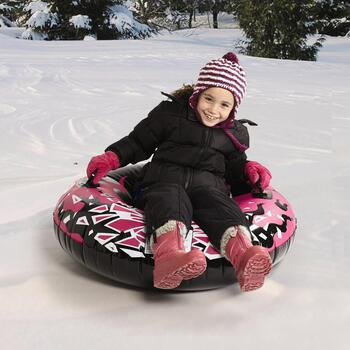 "Inflatable 42"" Round Snow Tube"