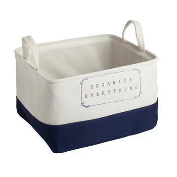 "The Grainhouse™ ""Organize Everything"" Fabric Storage Bin view 1"