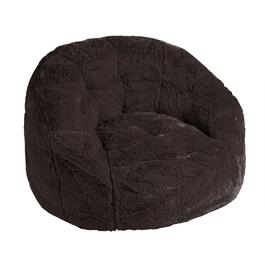 Kids' Solid Plush Beanbag Chair