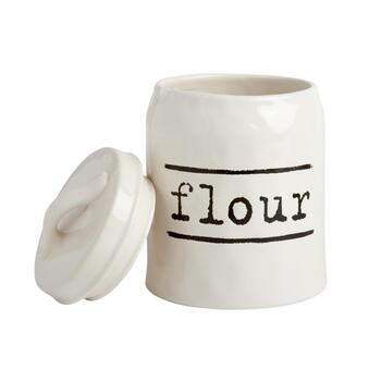 "The Grainhouse™ Typed ""Flour"" Canister"