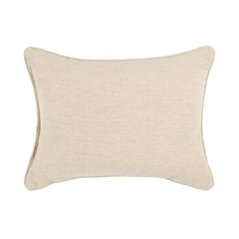Woodland Pinecone Embellished Oblong Throw Pillow view 2