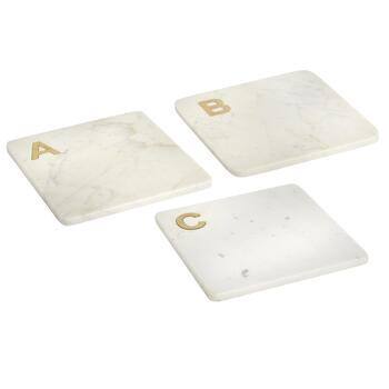 Monogram Marble Serving Board