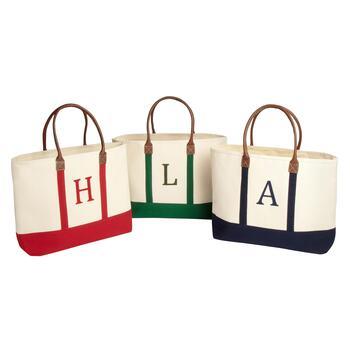Monogram Canvas Carry Bag