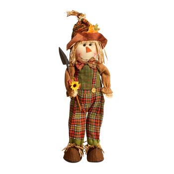 "22"" Autumn Harvest Standing Scarecrow Boy"