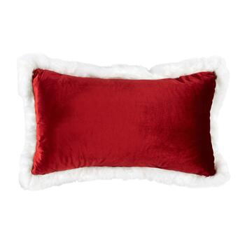 """Merry and Bright"" Oblong Throw Pillow view 2"