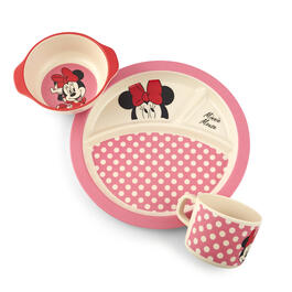 Minnie Mouse™ 3-Piece Mealtime Set view 1