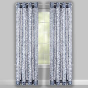 Gray Xinnia Window Curtains, Set of 2 view 2