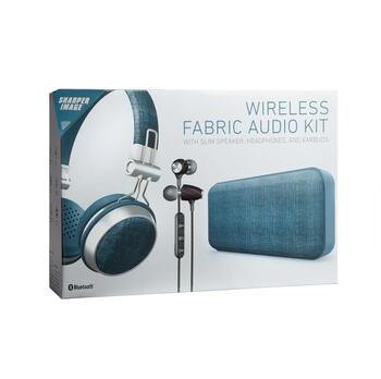 Sharper Image Bluetooth Wireless Fabric Audio Kit Christmas Tree