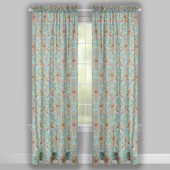 Traditions by Waverly® Opal Rod Pocket Window Curtains, Set of 2 view 2