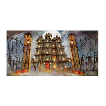 "10""x20"" Haunted Mansion LED Wall Decor"
