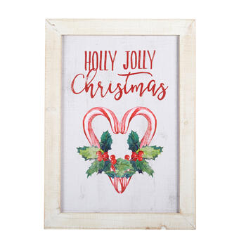 "20""x28"" ""Holly Jolly Christmas"" Framed Wall Decor view 1"