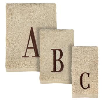 Monogram Embroidered Bathroom Towels Collection
