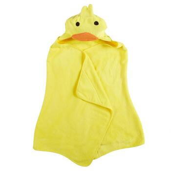 Children's Duck Hooded Towel