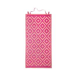 "35""x70"" Pink Diamond Rollup Beach Mat"