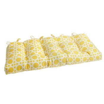 Yellow Cane Indoor/Outdoor Double-U Seat Pad