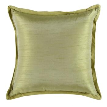 Embroidered Medallion Square Throw Pillow view 2