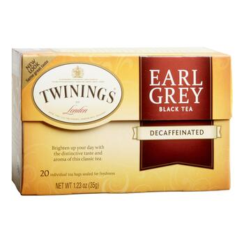 Twinings® Earl Grey Decaf Black Tea, 6 Boxes