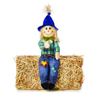 "SCARECROW SITTERS 24"" view 1"