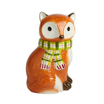 "10.25"" Fox Cookie Jar"