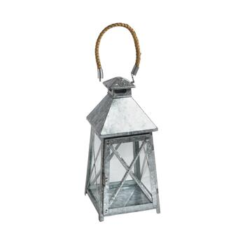 "14.75"" Indoor/Outdoor Metal Candle Holder"