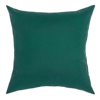 Solid Hunter Green Indoor/Outdoor Square Throw Pillow