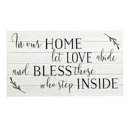 "18""x32"" ""Bless Those Who Step Inside"" Wood Wall Decor view 1"