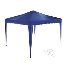"10"" Navy Folding Gazebo view 1"