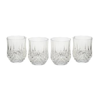 Longchamp Geometric Double Old-Fashioned Glasses, Set of 4