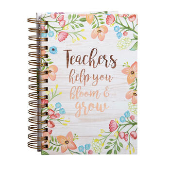 """Teachers Help You Bloom and Grow"" Journals, Set of 2 view 1"