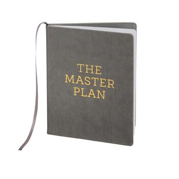 "The Grainhouse™ ""The Master Plan"" Hardcover Bound Notebook"