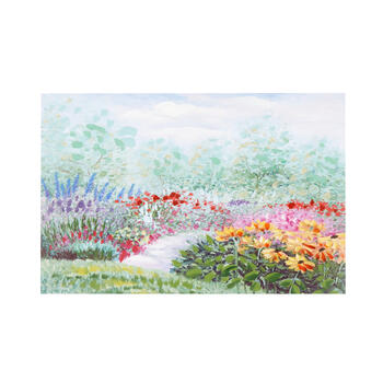 "16""x24"" Floral Pathway Canvas Wall Art view 1"