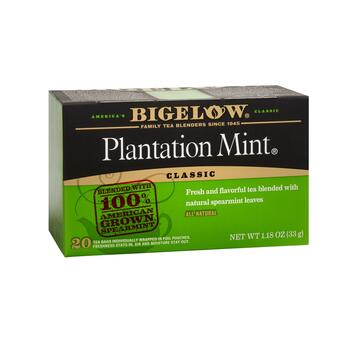 Bigelow® Plantation Mint Tea, 6 Boxes