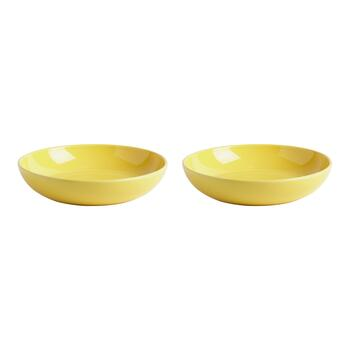 "9"" All-Purpose Ceramic Bowls, Set of 2"