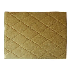 Yellow Quilted Mesh Drying Mat view 1
