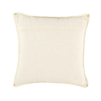 Gold Burst Embellished Square Throw Pillow view 2